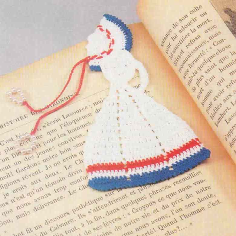 Ravelry: Fancy Crocheted Cross Bookmark pattern by Cheri Mancini