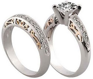 Wedding Rings Set For Him And Her Cheap