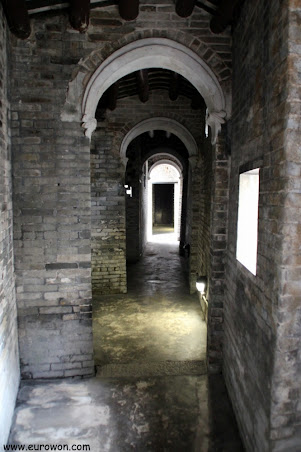 Vista del interior de Ching Shu Hin