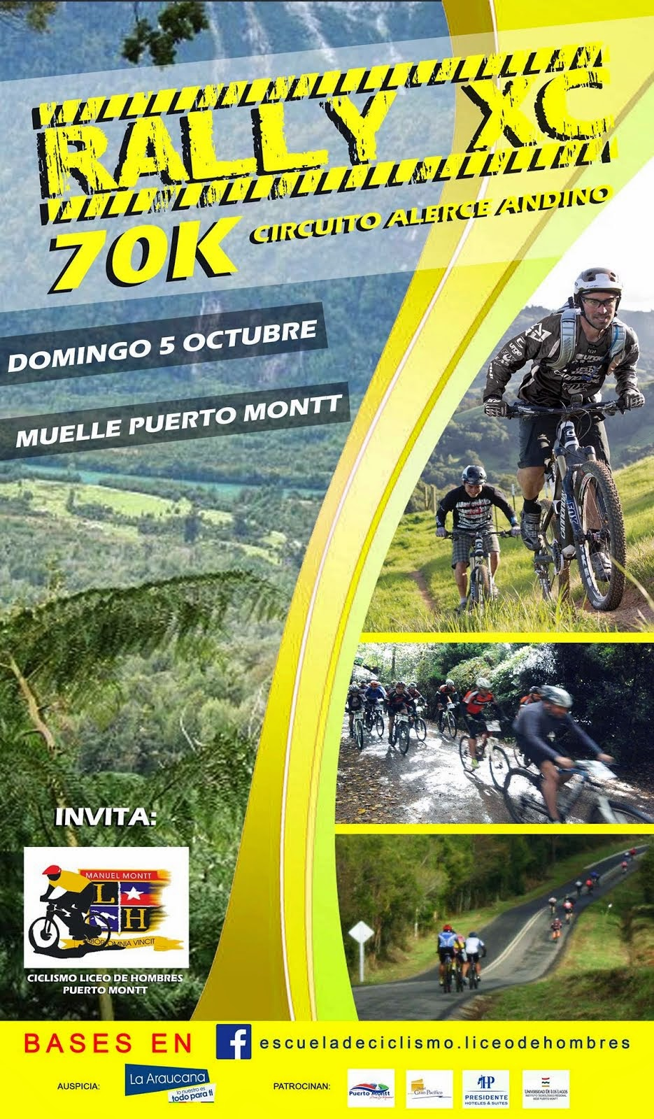Rally 70k XCM Liceo de Hombres