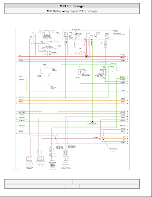 1999 Ford Ranger System Wiring Diagrams | 4 Images ...
