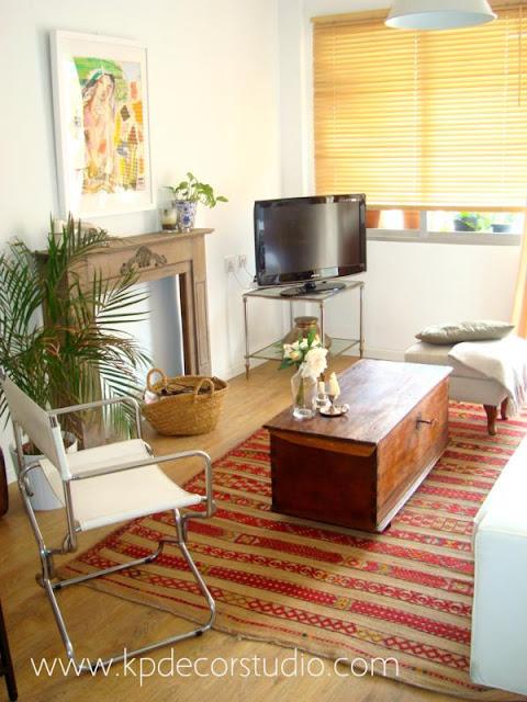 Salones con decoración estilo nórdico. Muebles nórdicos en valencia. Venta de arcones preciosos
