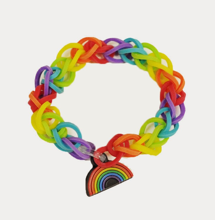 rainbow loom instructions no video