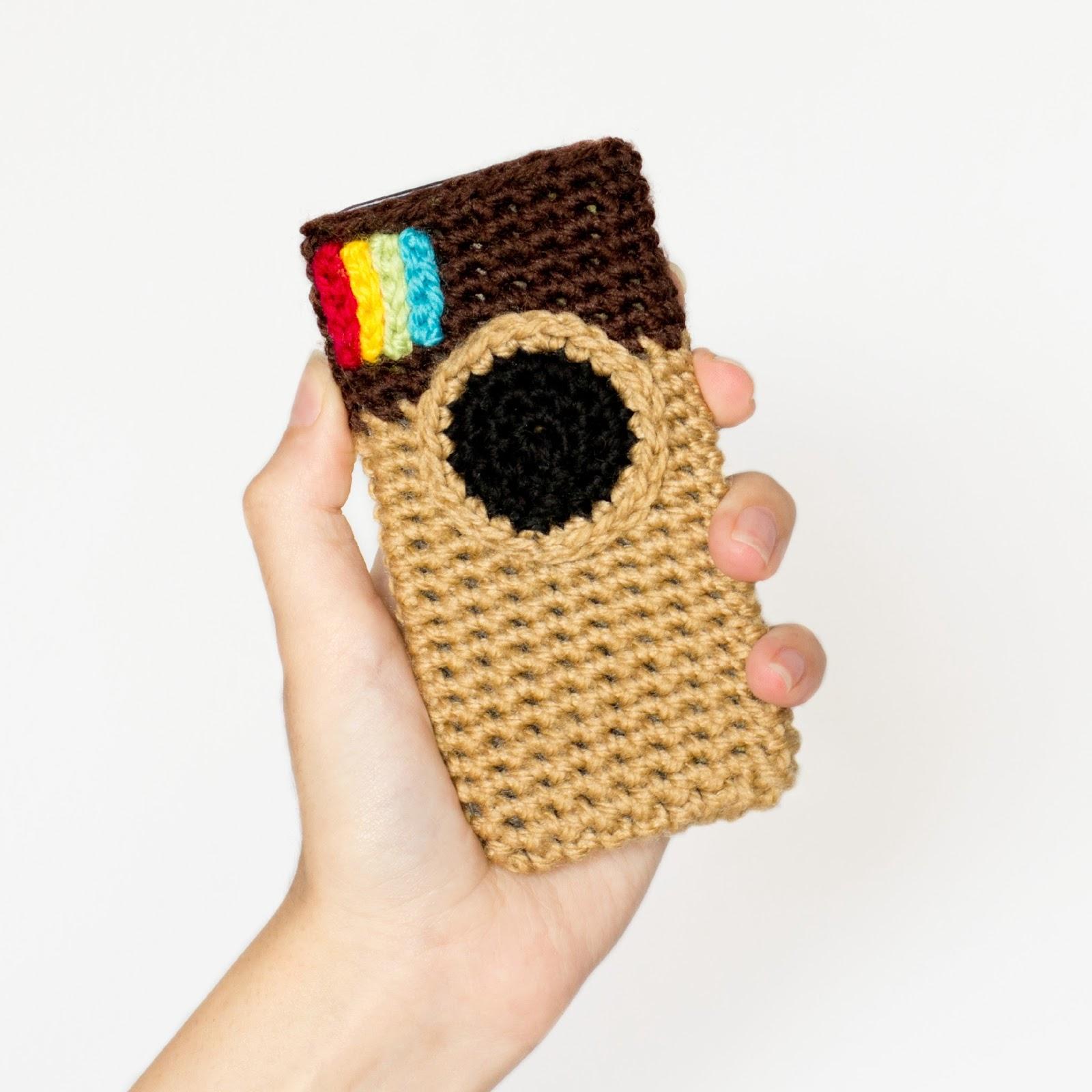 Free Crochet Pattern Phone Case : Hopeful Honey Craft, Crochet, Create: Instagram Inspired ...