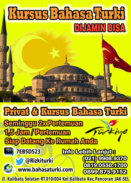 PRIVAT BAHASA TURKI