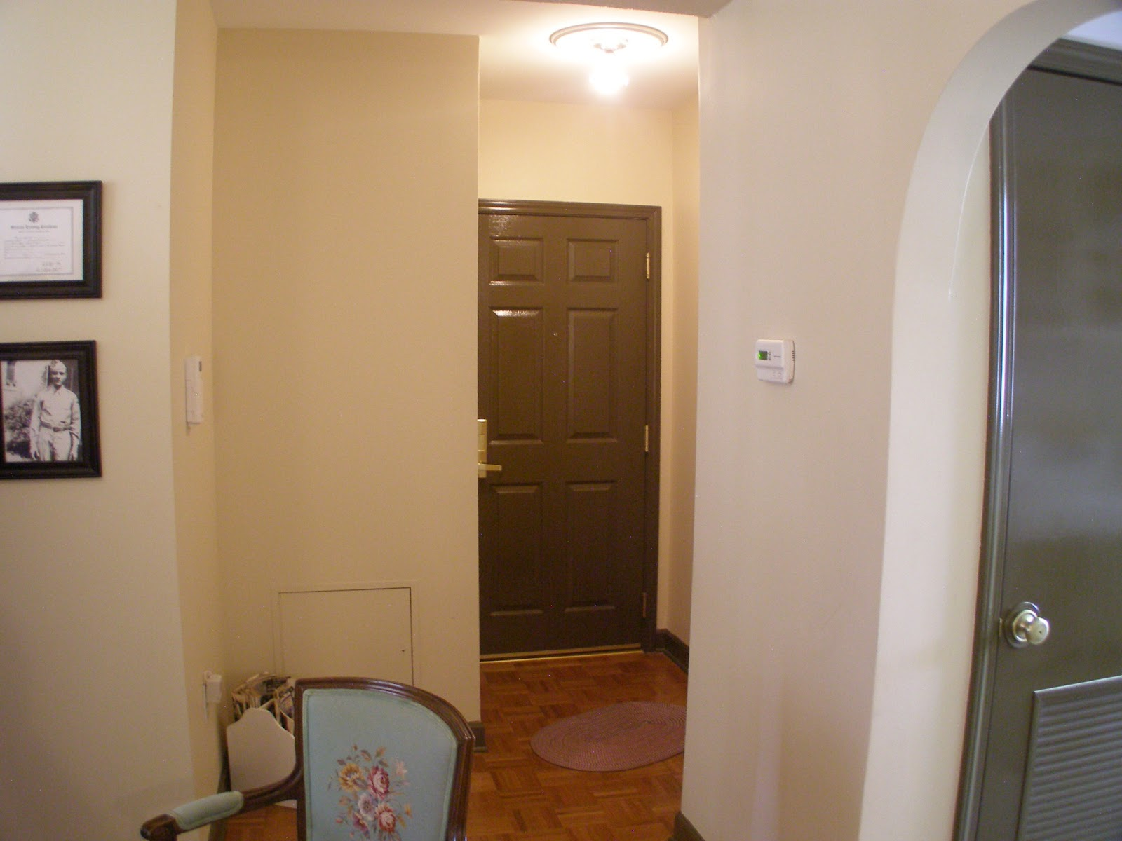Apartment Door Design   Table and Chair and Door
