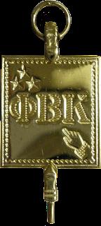 A Chave Phi Beta Kappa, simbolo maçonico, maçonaria, secreto, sociedadews secretas