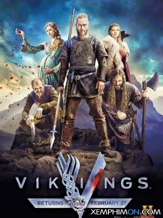 Huyền Thoại Vikings 3 Kênh trên TV Full Tập Vietsub