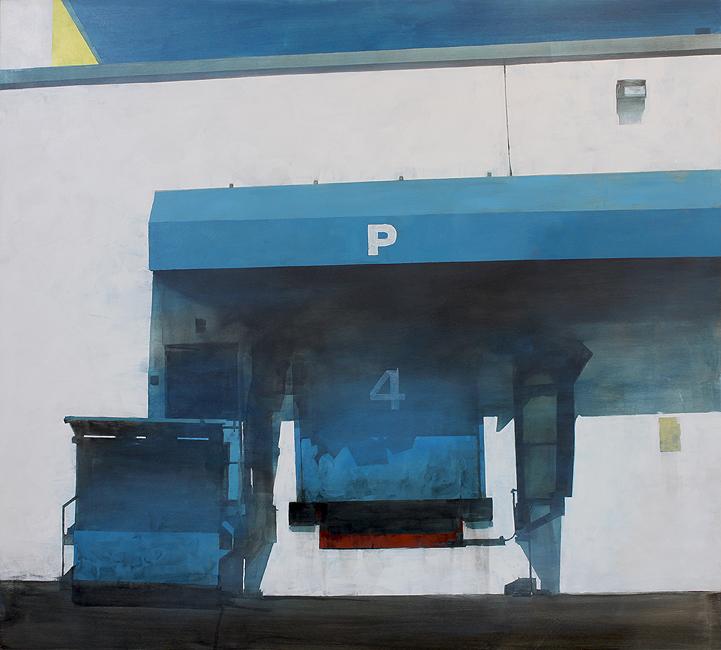 Doctor Ojiplático. Erin McSavaney. La sugerencia de la presencia. Pintura | Painting
