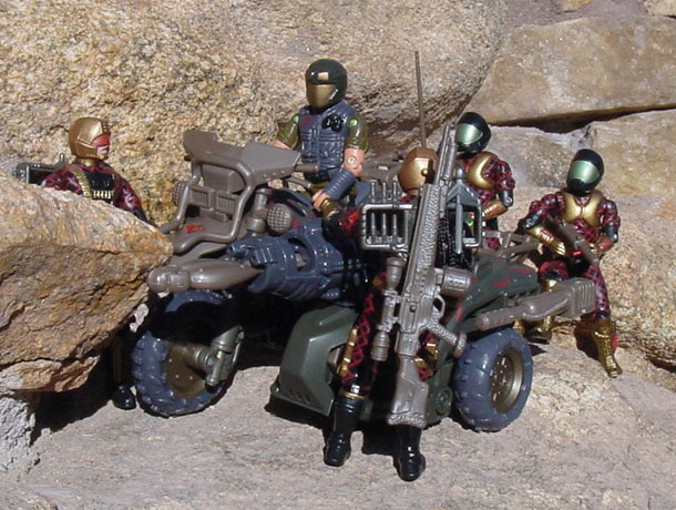 2003 Venom Cycle, Spy Troops, Viper