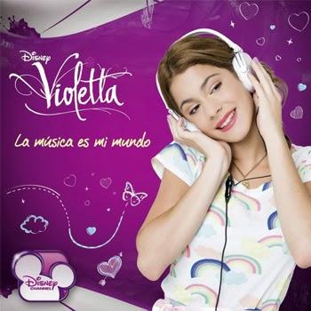 cover la música es mi mundo Violetta, portada la música es mi mundo Violetta, frases de violetta,