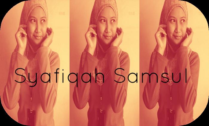 ♥Syafiqah Samsul♥
