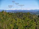 El Puigmal i el Pirineu de Núria des del camí de Cal Daina