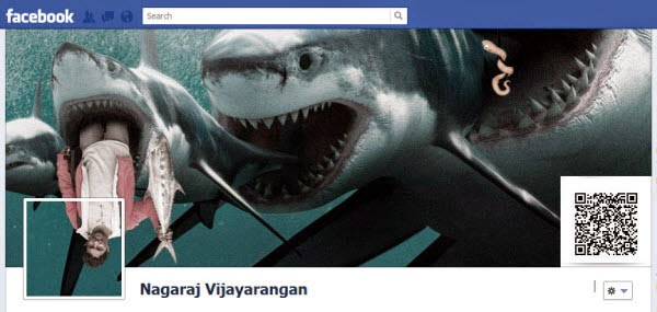 Very creative Facebook timeline image