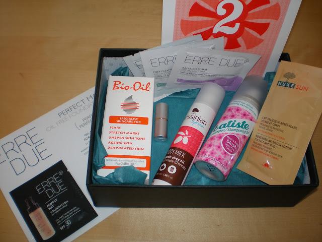 June Glowbox, Two years Anniversary Box!