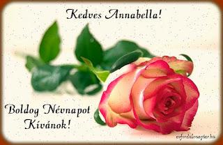 Június 9 - Annabella névnap