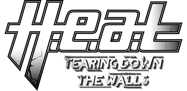 H.E.A.T - Tearing Down The Walls (2014) logo