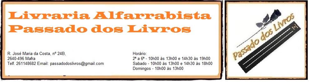 Livraria PASSADO DOS LIVROS