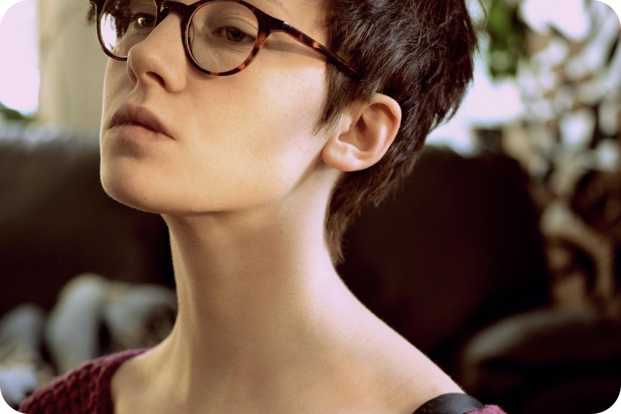 Kurzhaarfrisuren mit brille