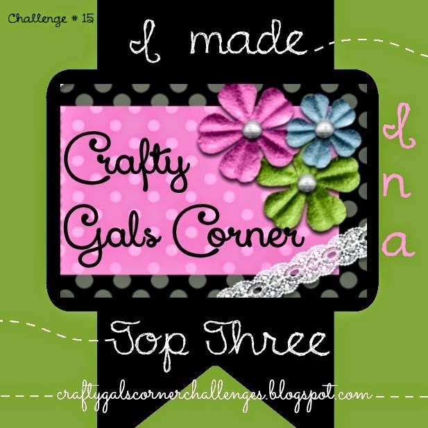Topp 3 hos Crafty gals corner