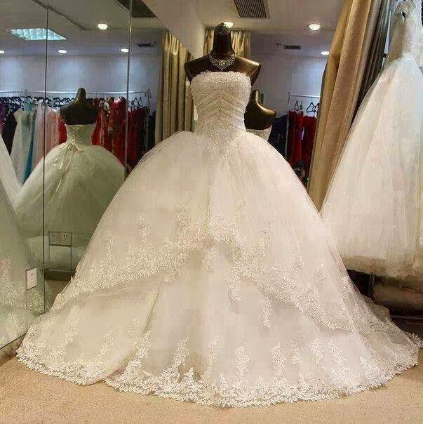 Princess Themed Wedding Dresses