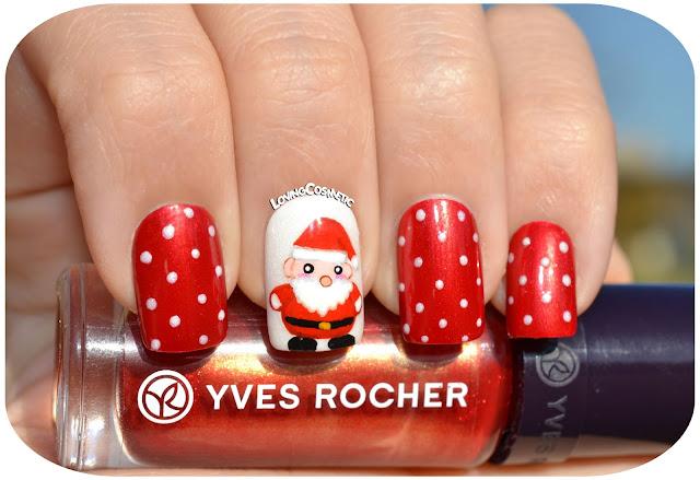 Nail Art - Santa Claus