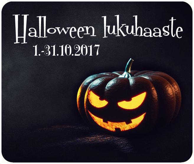 Halloween -lukuhaaste (1.-31.10.2017)