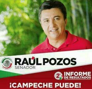 CALKINI PROGRESA. SENADOR RAUL POZOS.22sep2014.