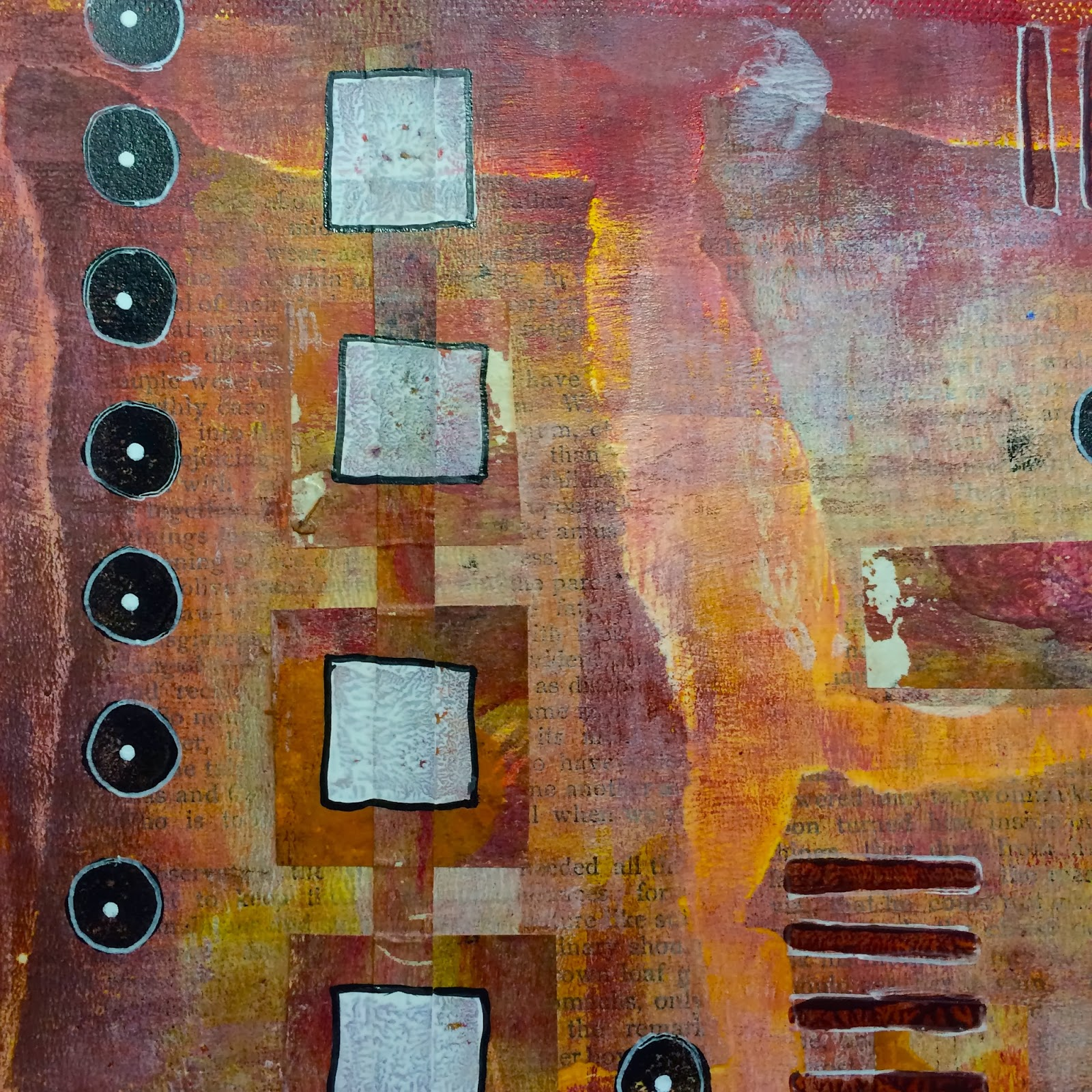 Abstracts In Acrylic And Ink A Playful Painting Workshop