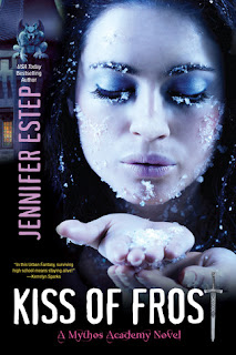 Kiss Kiss of Frost by Jennifer Estep Excerpt and Giveaway