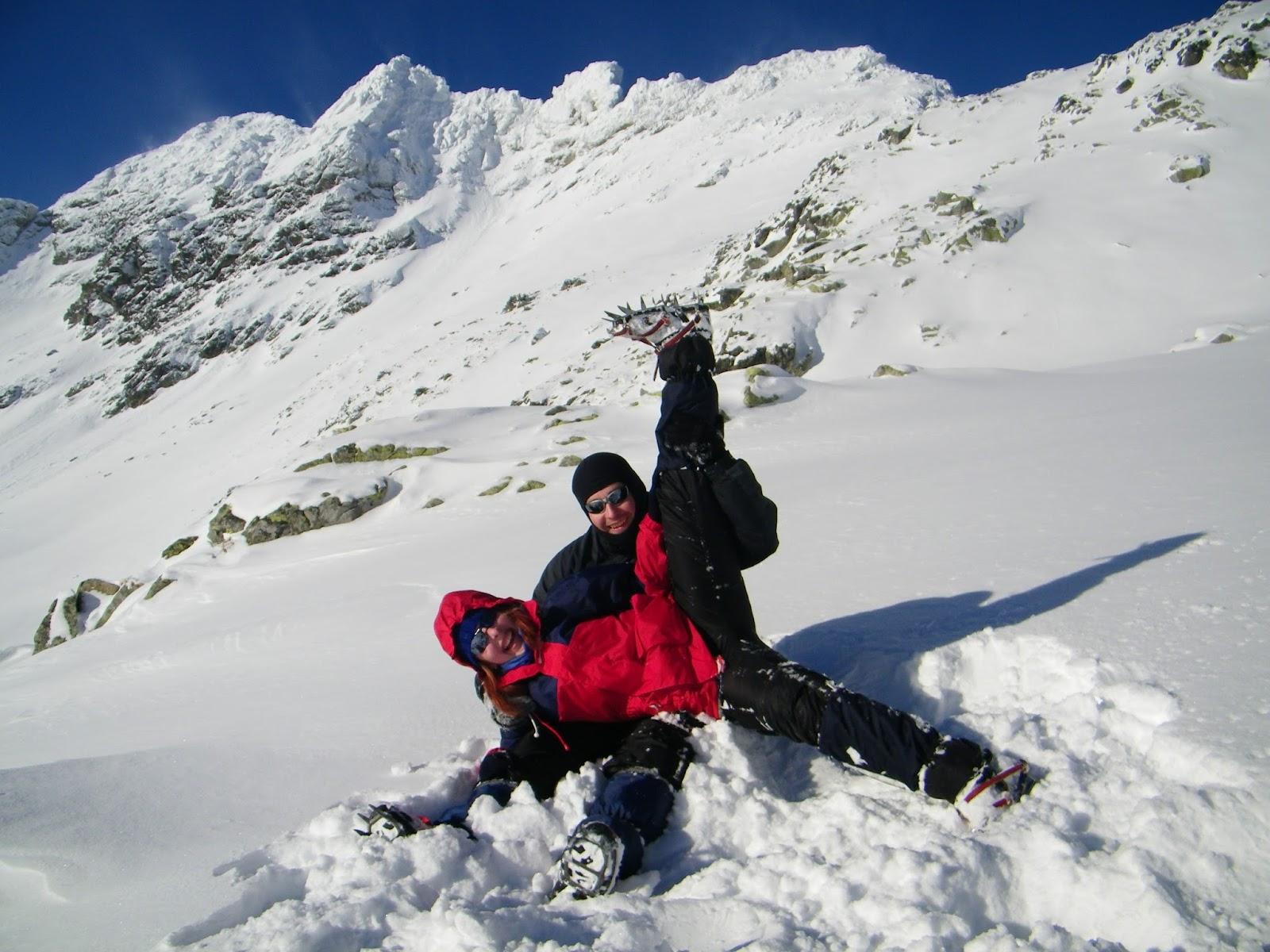 Góry Zima Bezpieczeństwo Tatry
