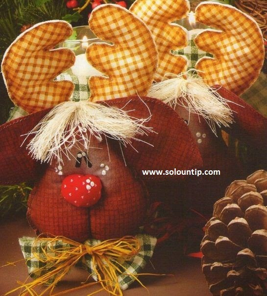 Manualidades renos navide os for Manualidades renos navidenos