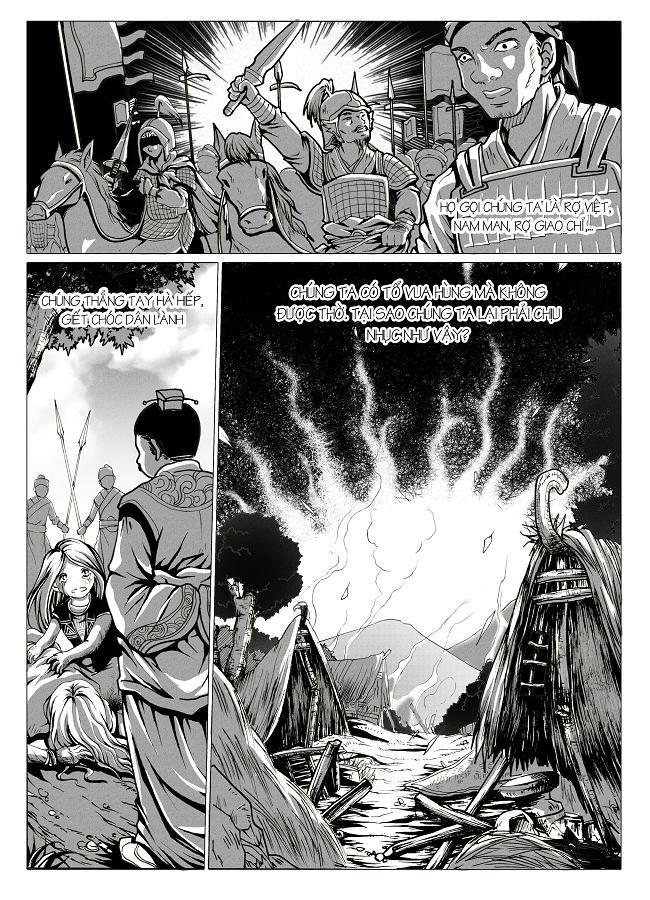 Anh Hùng Lĩnh Nam chap 1 - Trang 11
