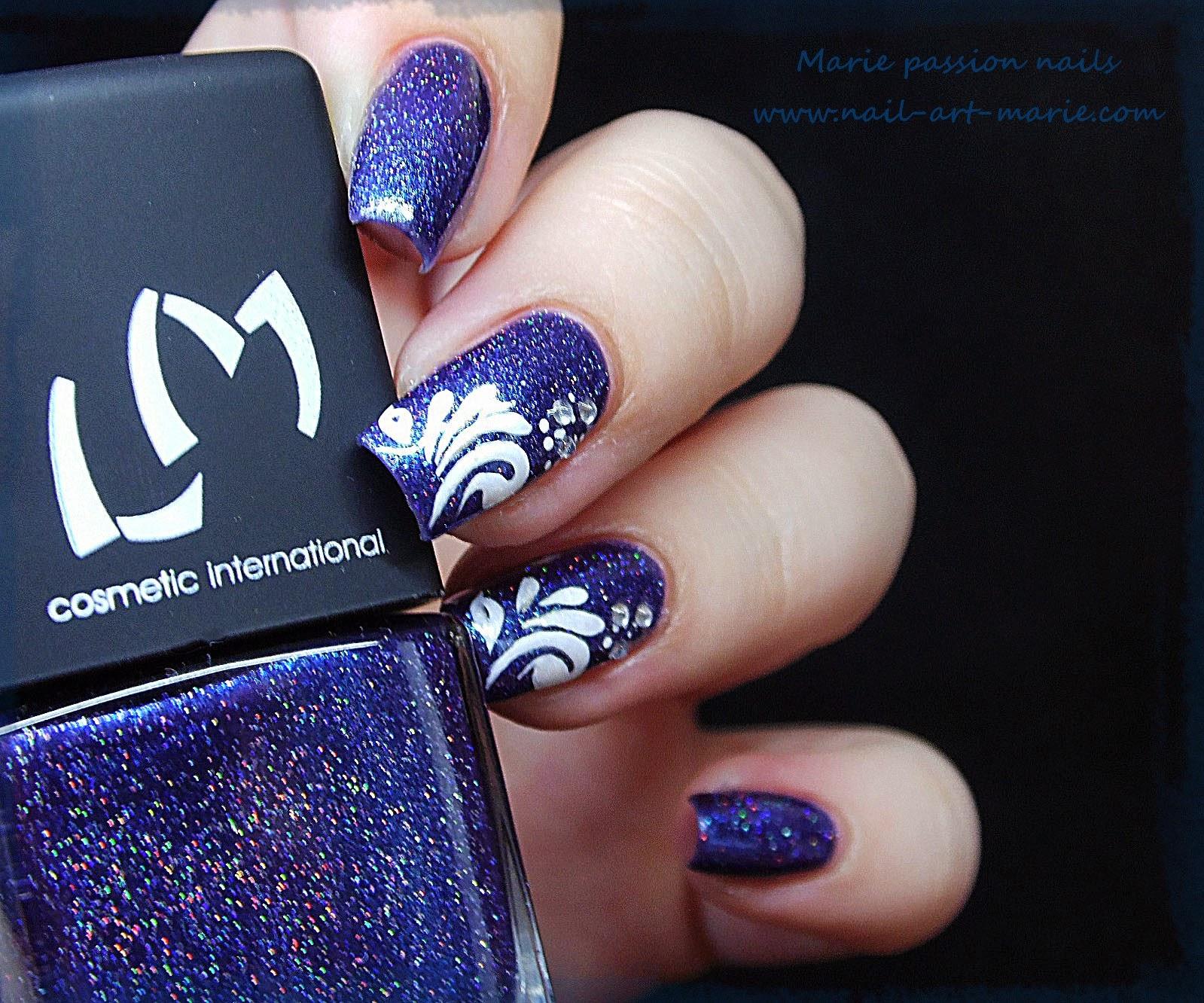 Nail Art gouttes sur Magie (G)5