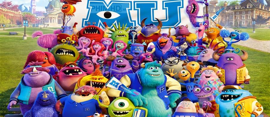 Quái Vật Học Đường - Monsters University - 2013
