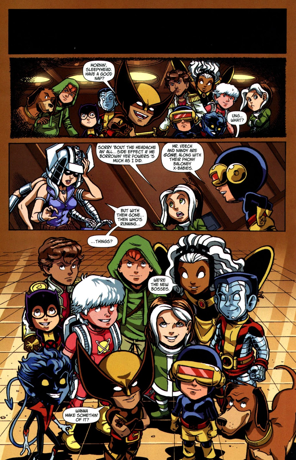 Read online X-Babies comic -  Issue #4 - 16
