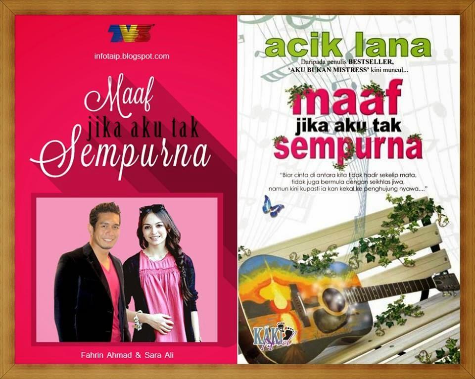 Review Novel Maaf Jika Aku Tak Sempurna