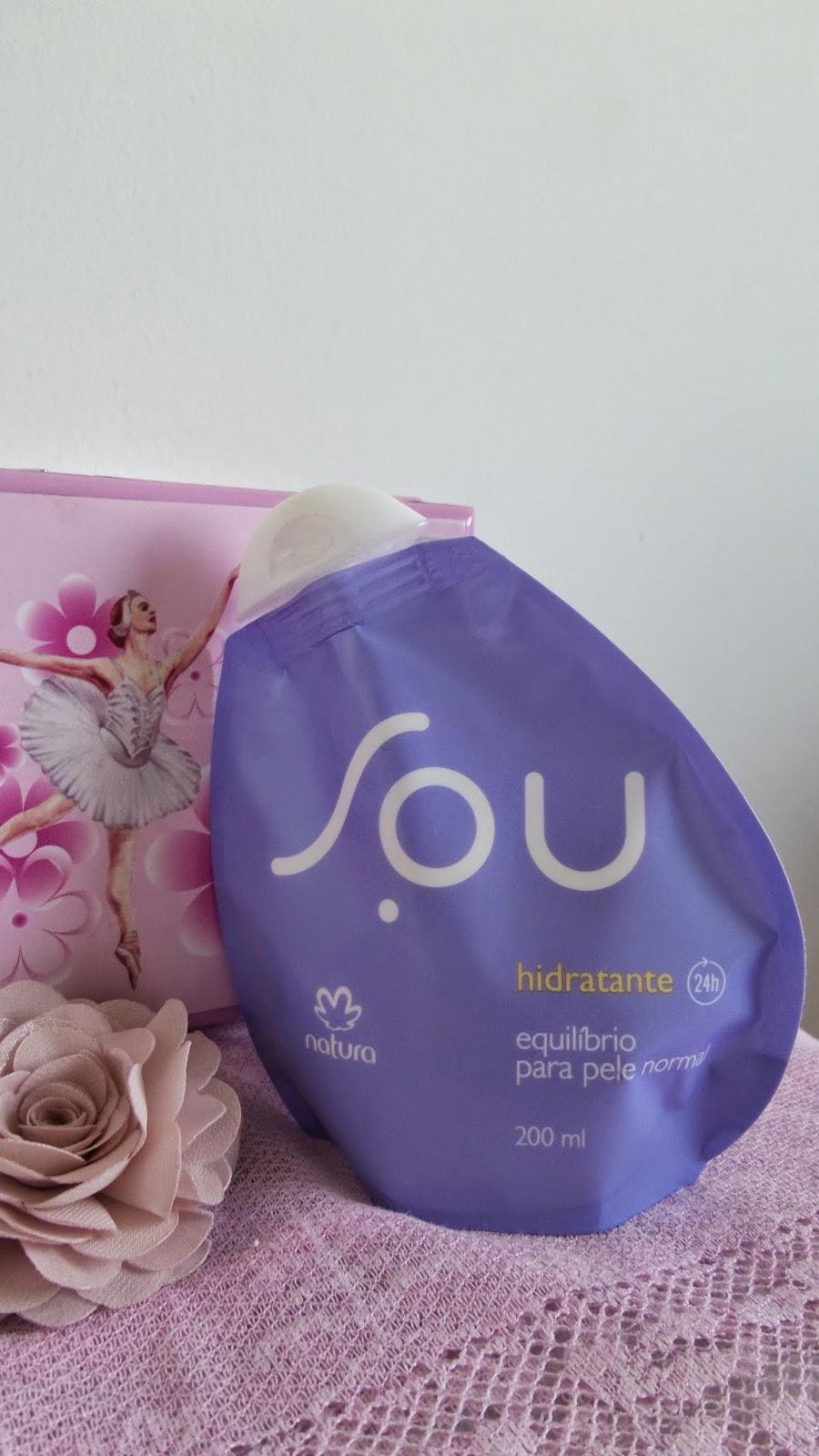 Hidratante SOU Natura para pele normal