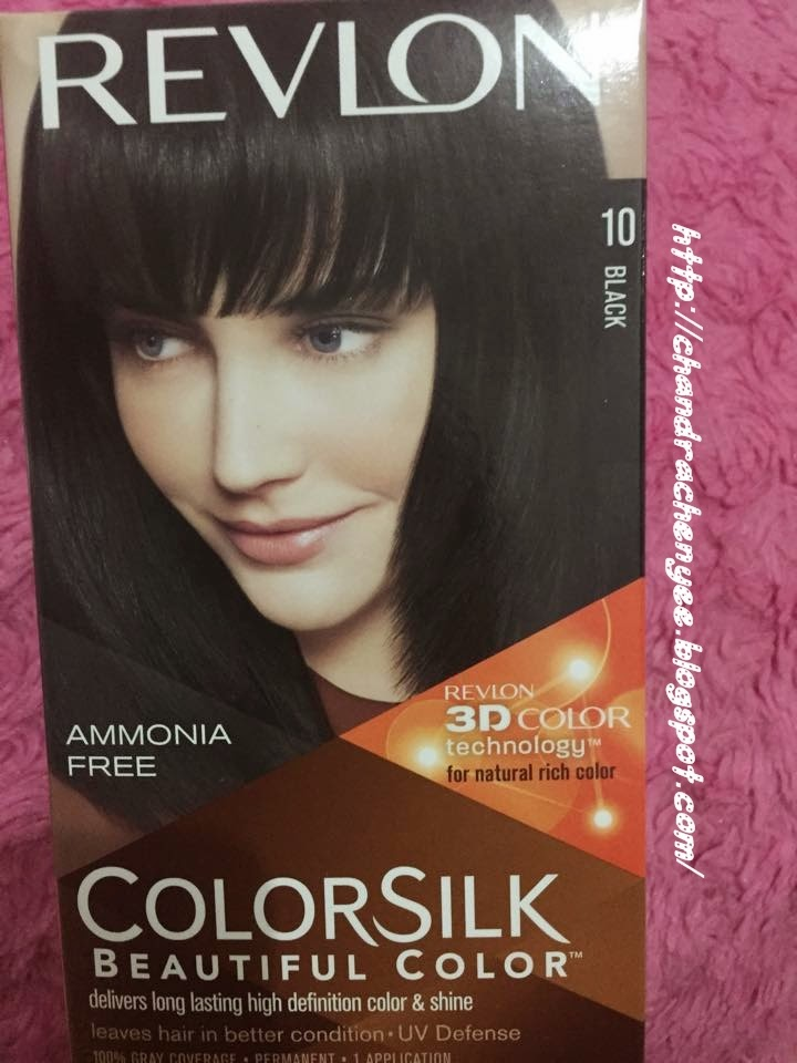 Chandra Chen Yee Blog Revlon Colorsilk Review Black