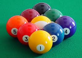 Rack Em Up! Bust Em Up! Stroke, but Don't Poke! Play Billiards