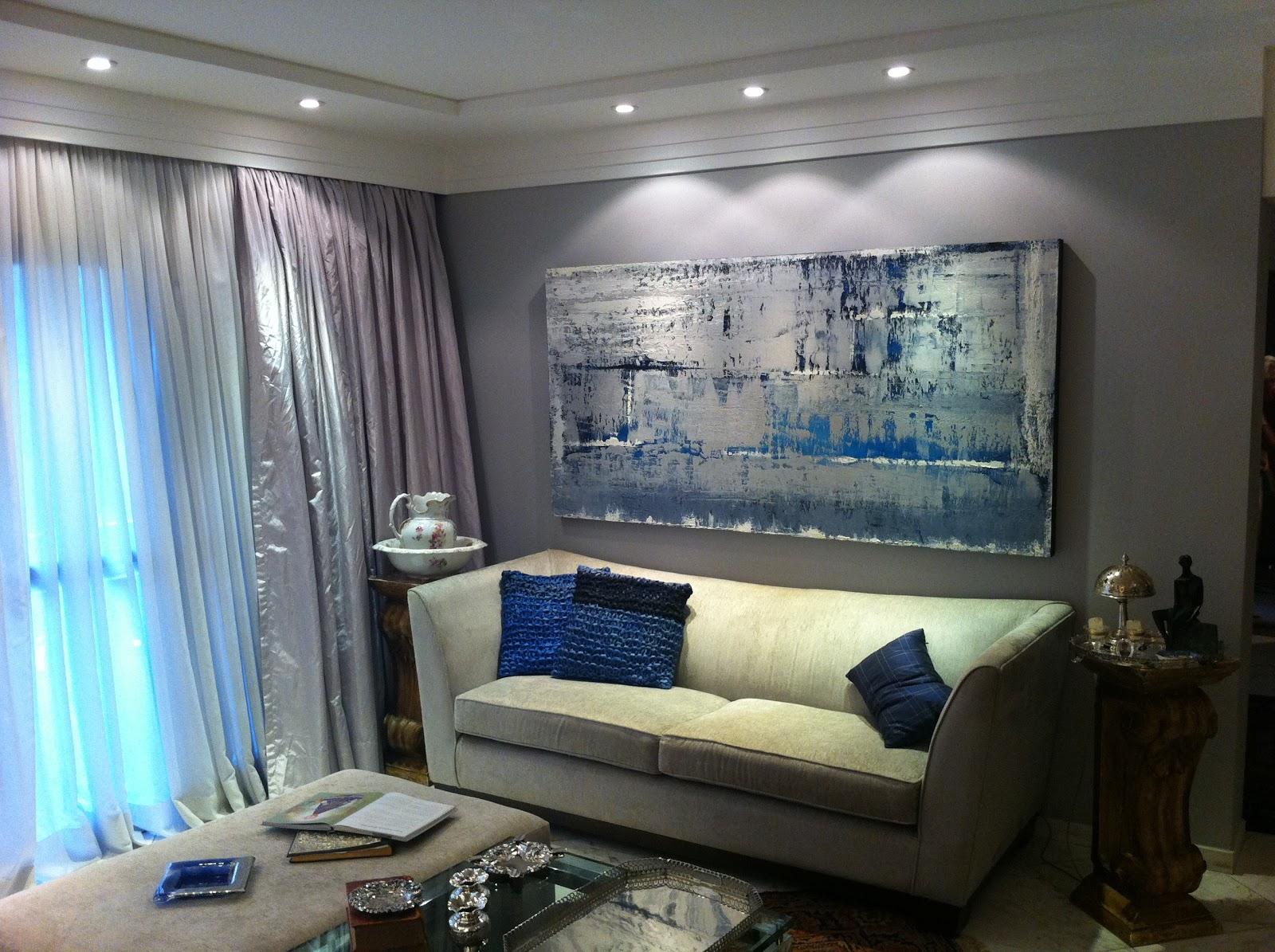 Fotos De Telas Para Sala De Jantar ~ Fabio Daher Tela Glaciar adquirida para sala de estar