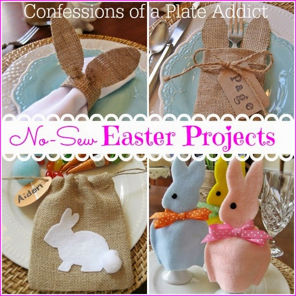 Confessions of a plate addict last minute eastereasy no sew egg cozy and just in case you need some more no sew ideas for easter here are a few of the projects that i have shared this spring negle Images