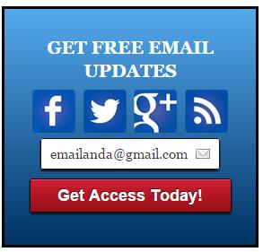 Widget email Subcribe ( berlangganan artikel ) Blue style