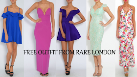 CURRENT GIVEAWAY: OMG, Free Outfit From Rare London!!