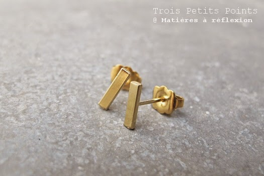 Boucles Made in France Trois Petits Points Paris