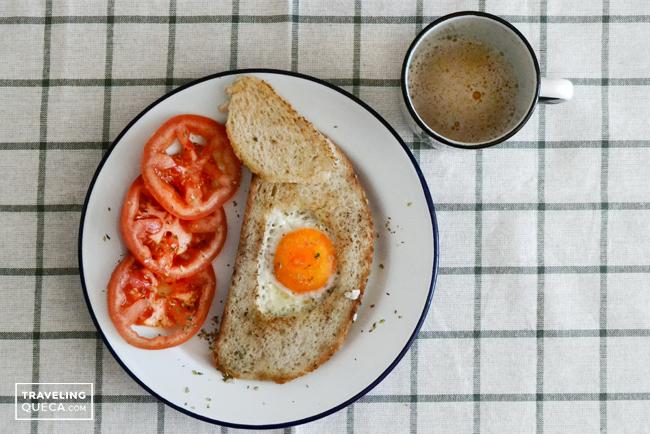 Cómo comer un huevo frito en tu camper, sin liarla