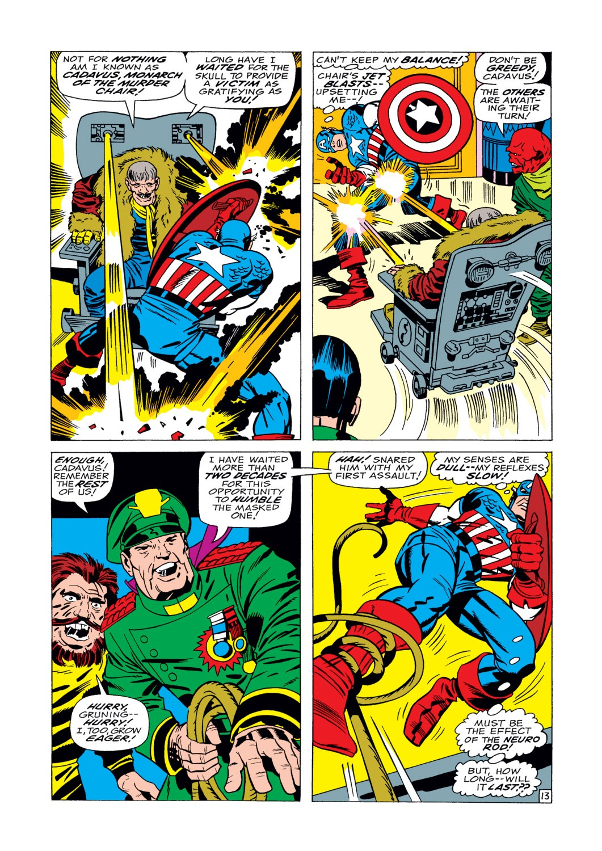 Captain America (1968) Issue #104 #18 - English 14