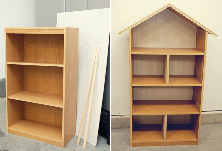 Diy Dollhouse Bookshelf: Handmade Christmas Gift - simple as that