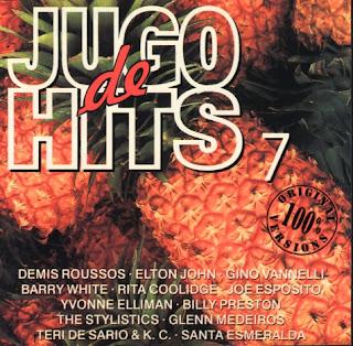 JUGO DE HITS VOL. 7 - VARIOS  PORTADA