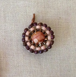Circular brick stitch component - Lisa Yang's Jewelry Blog